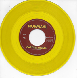 Normaal - Captain Høken / Two moths (Limited edition, yellow vinyl)