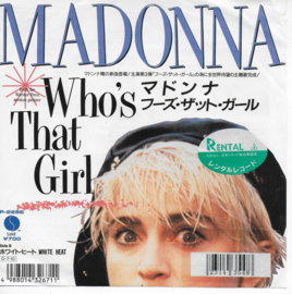 Madonna - Who's that girl (Japanse uitgave)