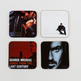 George Michael Album Cover Coasters