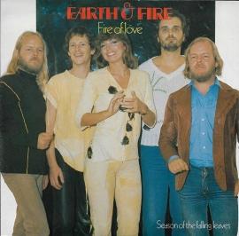 Earth & Fire - Fire of love (Alternative cover)
