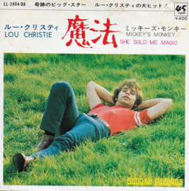 Lou Christie - She sold me magic (Japanese edition)