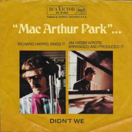 Richard Harris - Mac Arthur Park