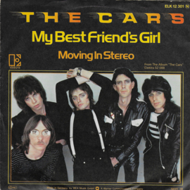 Cars - My best friend's girl (Duitse uitgave)