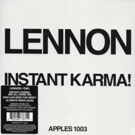 John Lennon - Instant karma! (2020 ultimate mixes) (Limited edition of only 1600 copies)