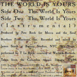 Nas - The world is yours (Limited edition)