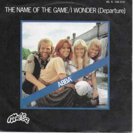 Abba - The name of the game (Franse uitgave)