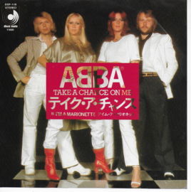 Abba - Take a chance on me (Japanse uitgave)
