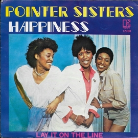 Pointer Sisters - Happiness (Benelux uitgave)