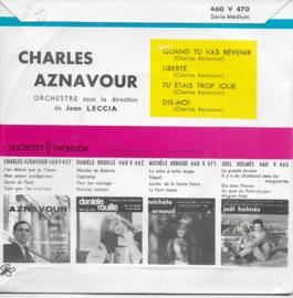Charles Aznavour - Quand tu vas revenir