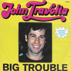 John Travolta - Big trouble (blauw vinyl)