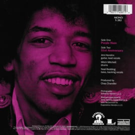 Jimi Hendrix Experience - Purple haze / 51st Anniversary (American edition)
