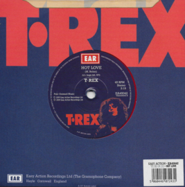 T. Rex - Hot love (Limited edition rood vinyl)