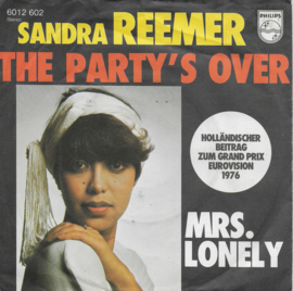 Sandra Reemer - The party's over (Duitse uitgave)