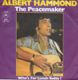 Albert Hammond - The peacemaker (Duitse uitgave)