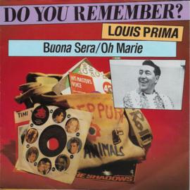 Louis Prima - Buona sera / Oh Marie