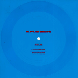 5 seconds of summer - Easier (flexi-disc, transparant blauw) (Limited edition)