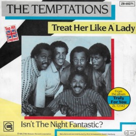 Temptations - Treat her like a lady (German edition)