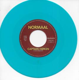 Normaal - Captain Høken / Two moths (Limited edition, turquoise vinyl)