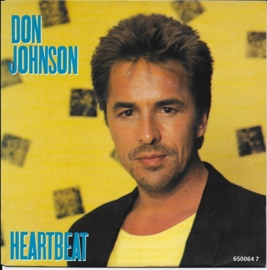 Don Johnson - Heartbeat (alternative cover)