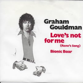 Graham Gouldman - Love's not for me (Rene's song)