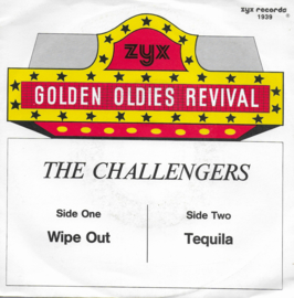 Challengers - Wipe out / Tequila (German edition)
