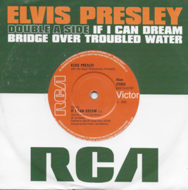 Elvis Presley - If i can dream / Bridge over troubled water (Limited edition)