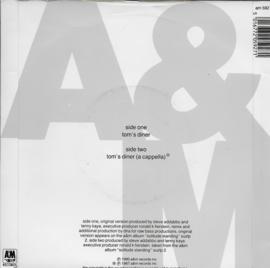 DNA feat. Suzanne Vega - Tom's diner (Engelse uitgave)