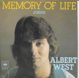 Albert West - Memory of life