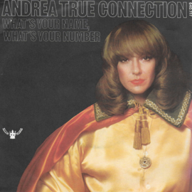 Andrea True Connection - What's your name, what's your number (Franse uitgave)