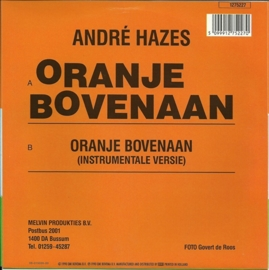André Hazes - Oranje bovenaan