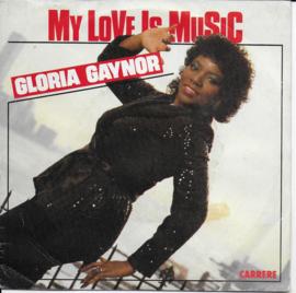 Gloria Gaynor - My love is music (Spaanse uitgave)
