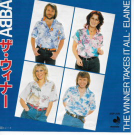 Abba - The winner takes it all (Japanse uitgave)