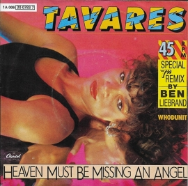 Tavares - Heaven must be missing an angel (Ben Liebrand remix)