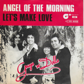 Guys 'n' Dolls - Angel of the morning (Belgische uitgave)