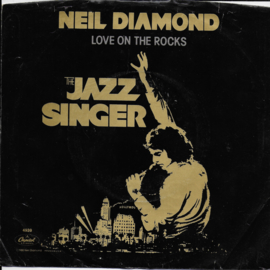 Neil Diamond - Love on the rocks (Amerikaanse uitgave)