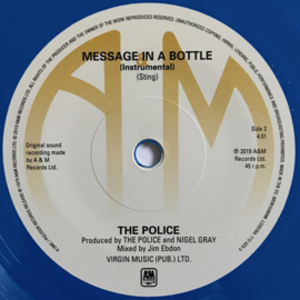 Police - Message in a bottle (Limited edition, green & blue vinyl)