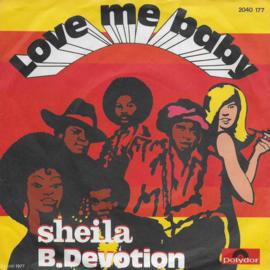 Sheila & B. Devotion - Love me baby (Duitse uitgave)