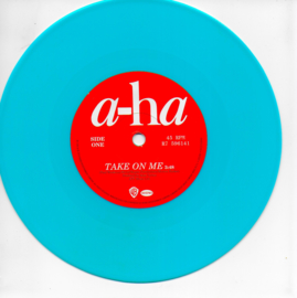 A-ha - Take on me (blauw vinyl, Limited edition)
