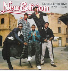 New Edition - A little bit of love (is all it takes)