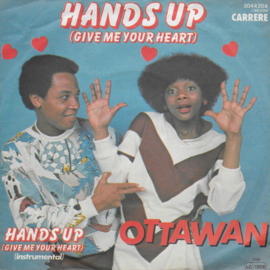 Ottawan - Hands up (give me your heart) (Duitse uitgave)