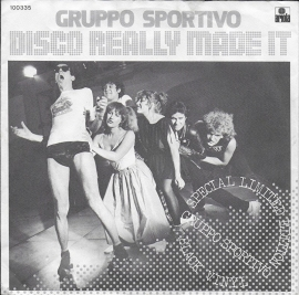 Gruppo Sportivo - Disco really made it