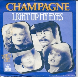 Champagne - Light up my eyes