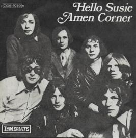 Amen Corner - Hello Susie (Franse uitgave)