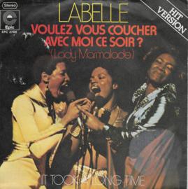 Labelle - Voulez vous coucher avec moi ce soir? (Lady Marmalade) (Duitse uitgave)