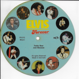 Elvis Presley  Teddy bear (picture flexi-disc)