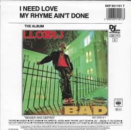 L.L. Cool J - I need love