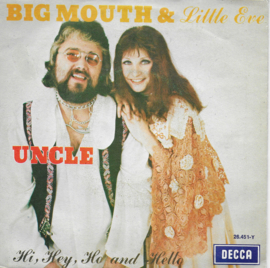Big Mouth & Little Eve - Uncle (Belgische uitgave)
