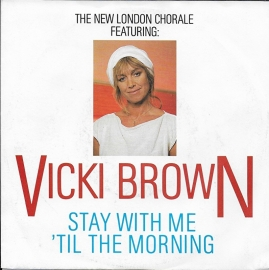 Vicki Brown ft. The New London Chorale - Stay with me 'til the morning