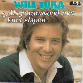 Will Tura - Als je vanavond niet kunt slapen