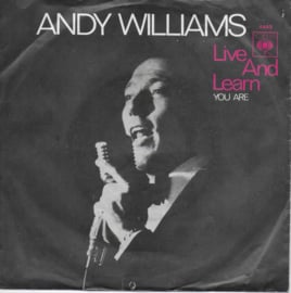 Andy Williams - Live and learn